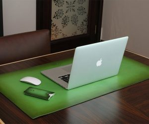 Ullu Leather Desk Mat