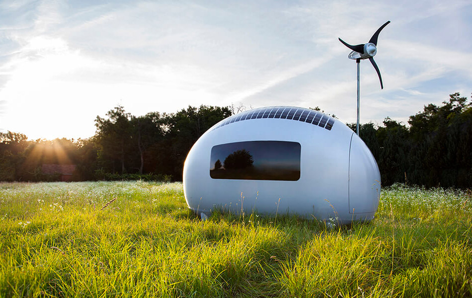 Ecocapsule Gets You Off The Grid