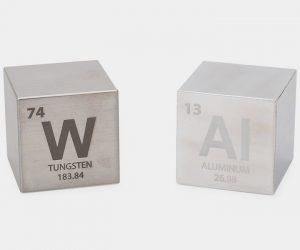 Tungsten & Aluminum Cube Set