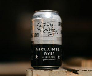 Creature Comforts Reclaimed Rye Beer
