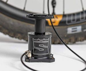 Stompump Bike-Mounted Foot Pump