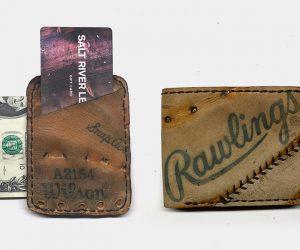 Salt River Baseball Glove Wallet