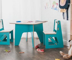 Sprout Modern Kids Table & Chairs