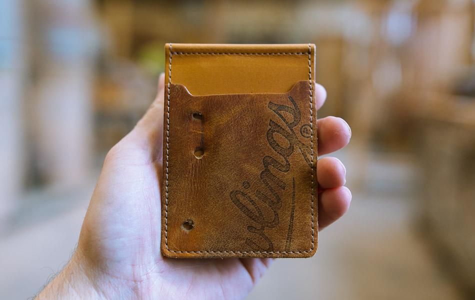 Pillbox Money Clip Wallet