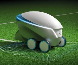 Nissan Pitch-R Soccer Robot