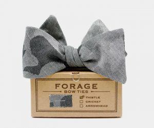 Forage Camo Bow Tie