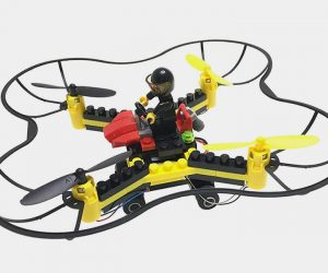 Force Flyers DIY Building Block Fly n Drive Drone