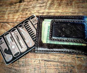 Grim Survival Multi-tool Wallet