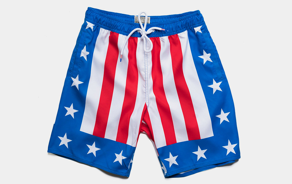Hearts On Fire Swim Trunks