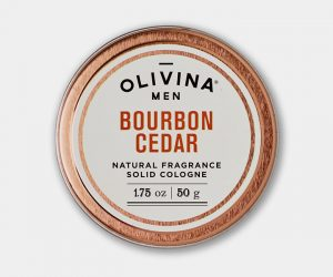 Olivina Men Bourbon Cedar Solid Cologne