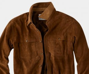 Whiskey Suede Shirtjac