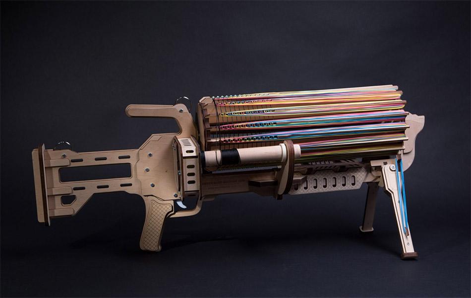 Rubber Band Machine Gun
